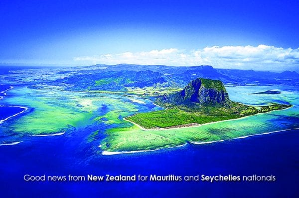 Good news from New Zealand for Mauritius and Seychelles nationals