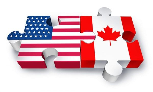 Image result for canada usa