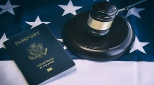 Us passport, law, legal,citizenship,immigration concept image