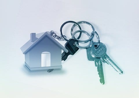 Home, Key, Keychain, Door Key, Turnkey