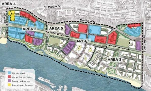 Vancouver City Council Approves Rezoning in River District 1