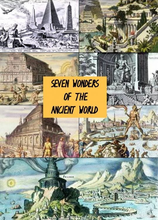What are the Amazing 7 Wonders of the Ancient World? 1