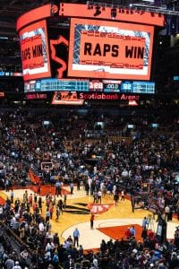 Toronto Raptors Win a Game