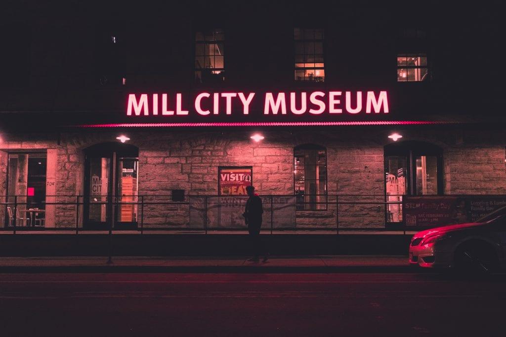 Mill City Museum, Minneapolis.