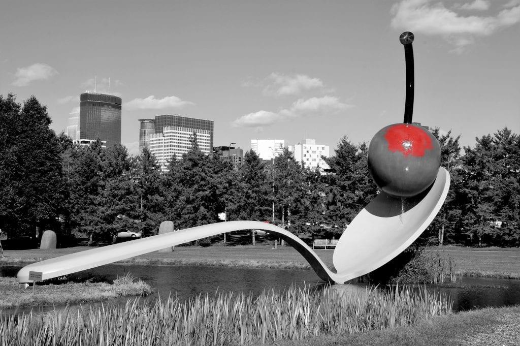 Spoonbridge and Cherry at Minneapolis Sculpture Garden