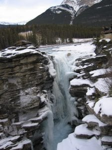 Falls in Winter