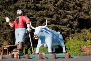 Paul Bunyan: A 19th C. Folklore Or A Real Hero? 6
