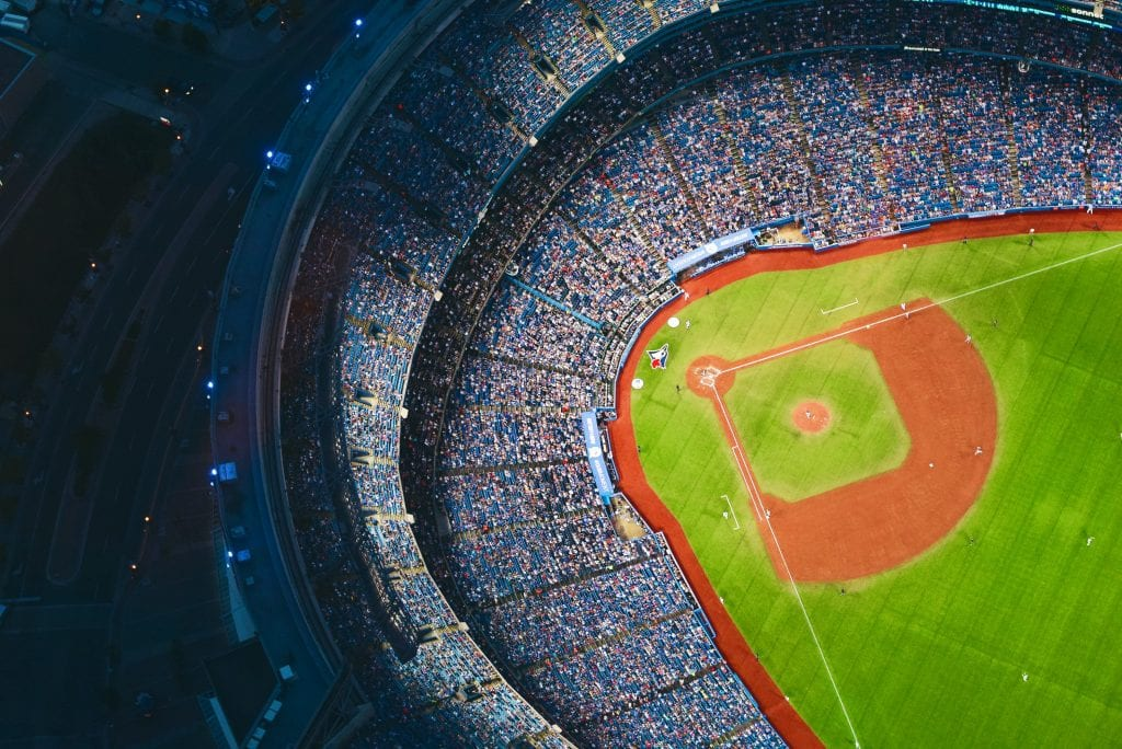 View of the Rogers Centre Dome from the SkyPod