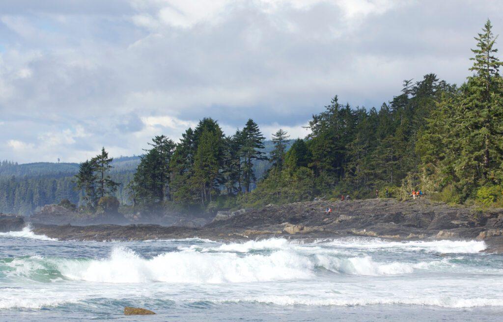 Botany Bay in Port Renfrew, BC Canada