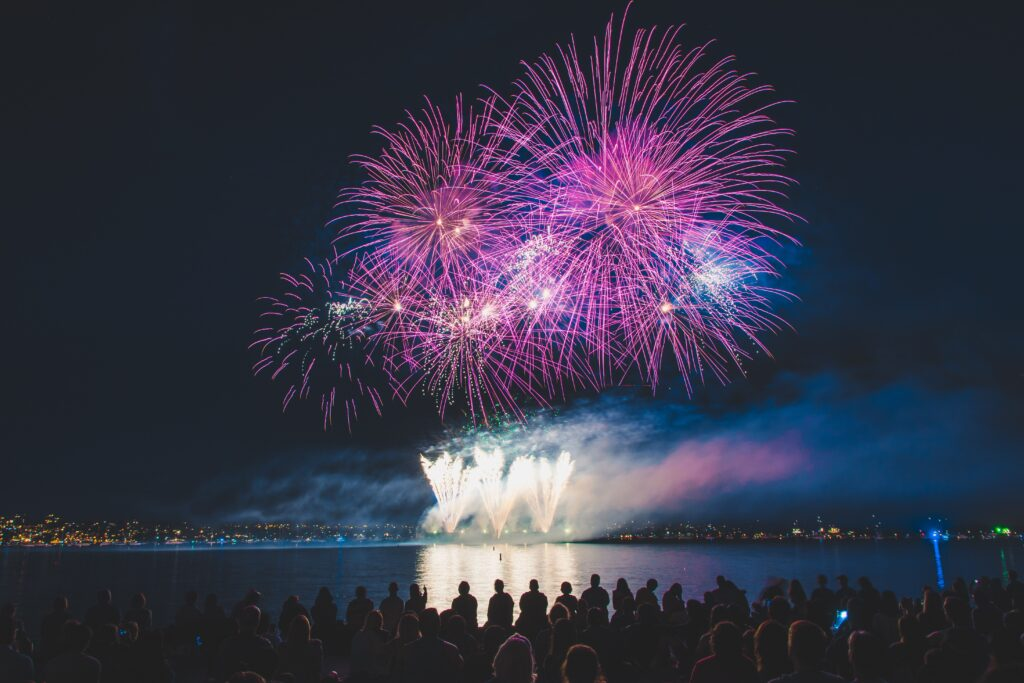 Vancouver's World Famous Celebration Of Light.- events in canada