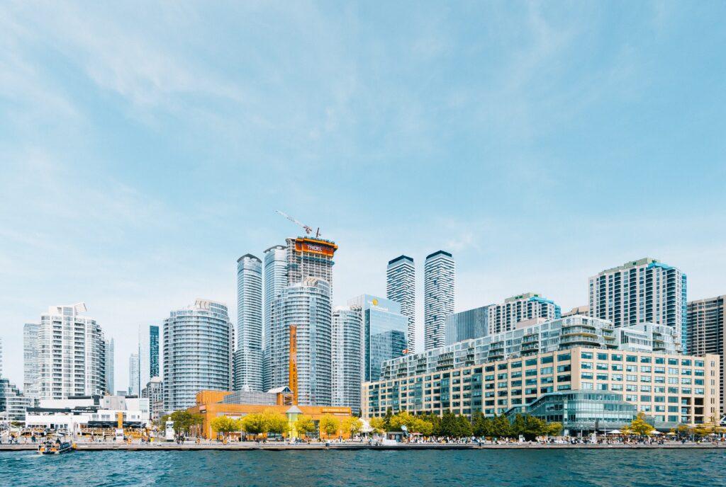 Hop-On Hop-Off toronto- Harbourfront Centre, Toronto, Canada-
