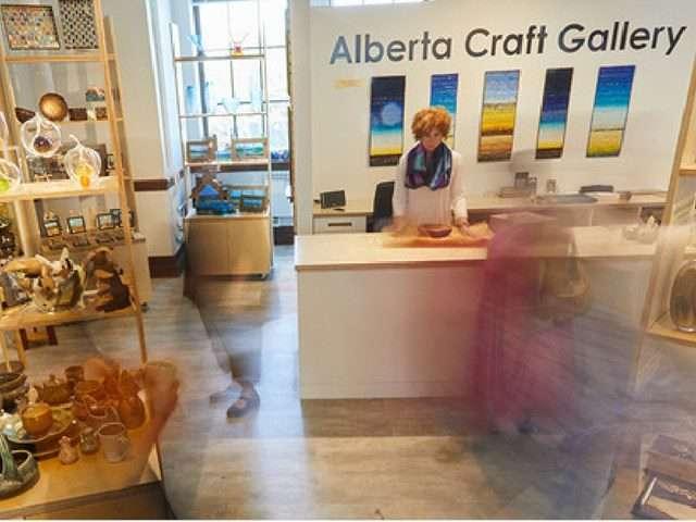 Alberta Craft Gallery   Alberta Canada