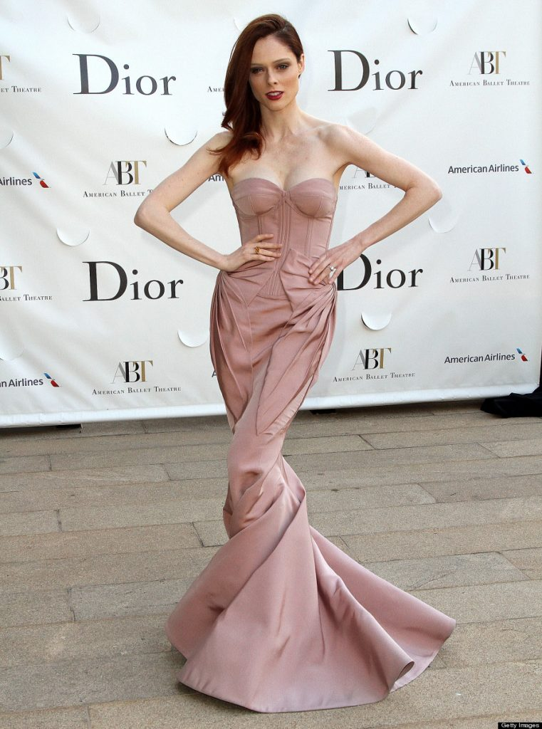 Coco Rocha's Zac Posen Dress: Canadian Model Upstages Celebs At Ballet ...