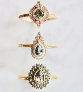 Alternative engagement rings by Emily Gill | Alternative engagement