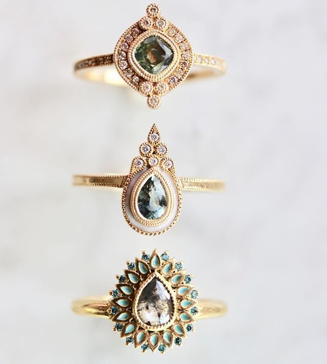 Alternative engagement rings by Emily Gill   Alternative engagement
