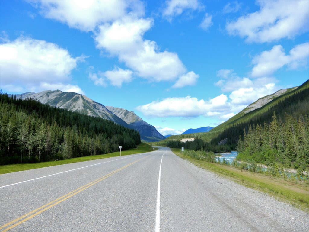 Road trips in Canada