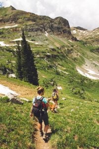 enjoy scenery as you hike