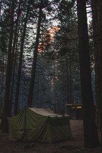 Camping At Campground
