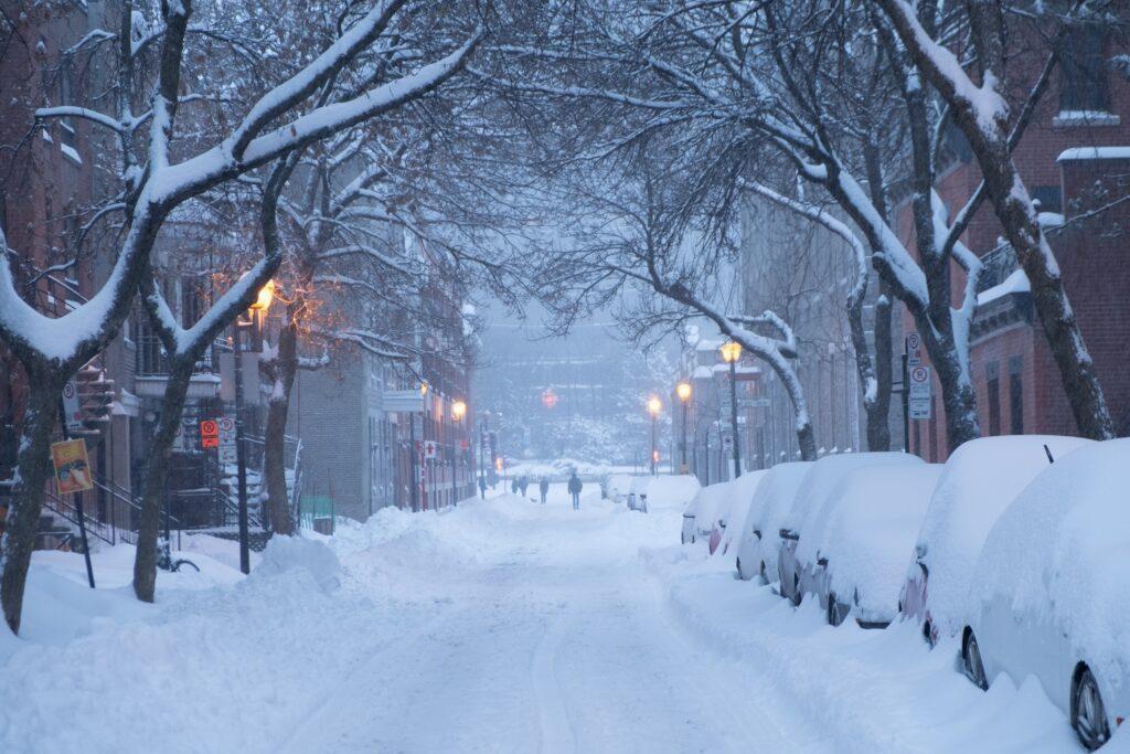 Winters in Canada