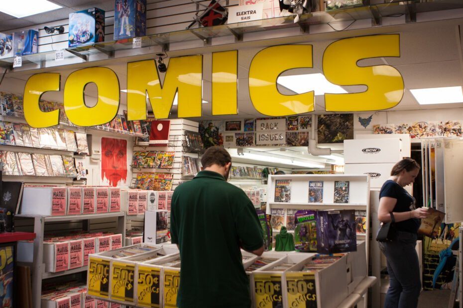 comic book stores in Toronto