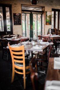 A vintage looking restaurant