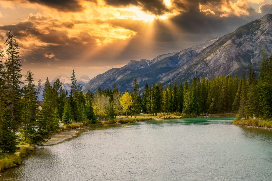 what to see in banff alberta