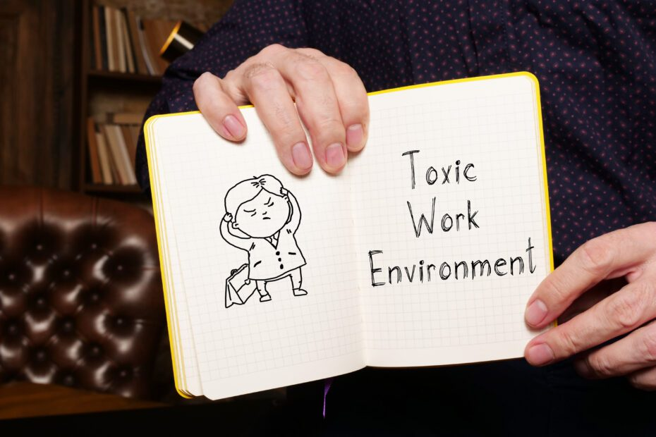 Deal with toxic workplace